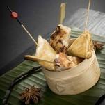 Panier de bouchées asiatiques