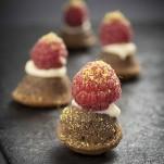 Mini tartelettes chocolat framboise